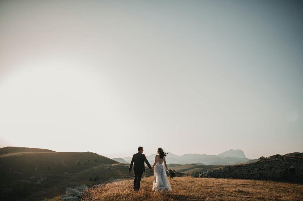 matrimonio in una villa